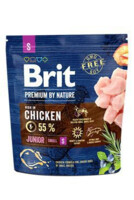 Vezi produsul BRIT Premium By Nature Junior Small S 1 kg in magazinul fera.ro