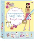 Vezi produsul Sticker Dolly Dressing Design Studio: Party Clothes in magazinul biabooks.ro