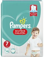 Vezi produsul Scutece chilotei PAMPERS Pants Jumbo Pack nr 7, Unisex, 17+ kg, 40 buc in magazinul Altex.ro