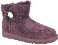 Vezi produsul Cizme femei UGG Australia W Mini Bailey Button Bling Constellation 1008822/LGE, 36, Mov in magazinul esteto.ro