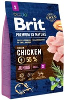 Vezi produsul Brit Premium by Nature Junior Small, 3 kg in magazinul petmart.ro