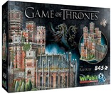 Vezi produsul Puzzle 3D Wrebbit - Game of Thrones - The Red Keep, 845 piese (3D-2017) in magazinul welovepuzzle.ro