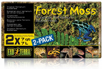 Vezi produsul EXO TERRA ASTERNUT FOREST MOSS COMPACT, 2 x 7 l in magazinul petmart.ro