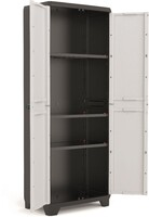Vezi produsul Dulap 3 polite gri Keter High Linear 68x39x173cm in magazinul yalco.ro