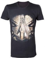 Vezi produsul Tricou Assassins Creed Syndicate British Flag Black - M in magazinul globalgame.ro