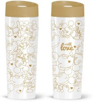 Vezi produsul Cana termos Minnie & Mickey gold with love 400ml in magazinul megaplus.ro