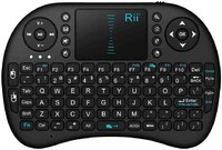 Vezi produsul Mini tastatura Rii wireless touchpad pentru XBox, PS, PC, Notebook, Smart TV in magazinul cartuseria.ro