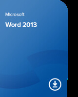 Vezi produsul Microsoft Word 2013, 059-08267 certificat electronic in magazinul forscope.ro