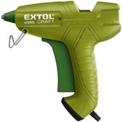 Vezi produsul Hot melt glue gun, diameter 11mm, 65W, EXTOL CRAFT 422002 in magazinul magazin.dioda.ro