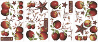 Vezi produsul Sticker decorativ COUNTRY APPLES | 4 colite de 25,4 cm x 45,7 cm in magazinul ka-international.ro