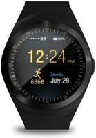 Vezi produsul Smartwatch Bluetooth, microSIM, TF, 11 functii, Android, display 1.3 inch HD in magazinul cartuseria.ro