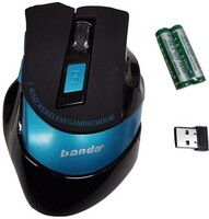 Vezi produsul Mouse wireless BANDA BD4000 USB Gaming 2.4GHZ 2400DPI in magazinul sogest.ro