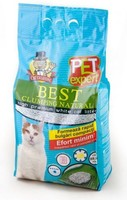 Vezi produsul Nisip Pet Expert Clumping Natural 5 L in magazinul animalulfericit.ro