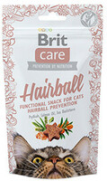 Vezi produsul Brit Care Cat Snack Hairball 50 g in magazinul shop.perfectpet.ro