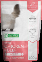 Vezi produsul Natures Protection Cat Persian With Chicken & Beef 100 G in magazinul animalulfericit.ro