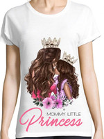 Vezi produsul Tricou Mommy little princess in magazinul creativgift.ro