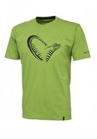 Vezi produsul Tricou Simply Savage Jaw Verde Marime XL in magazinul maxlife.ro