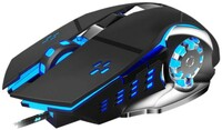 Vezi produsul Mouse Gaming Techstar¬ģ Silent, 3200 DPI, 6 Butoane, LED RGB, Macro in magazinul techstar.ro