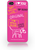 Vezi produsul Carcasa iPhone 4/4S Lost Dog Slim Hard Top Secret Pink in magazinul brandgsm.ro