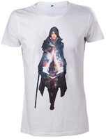 Vezi produsul Tricou Assassins Creed Syndicate Evie Frye White - XL in magazinul globalgame.ro