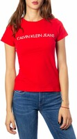 Vezi produsul Tricou Calvin Klein Jeans Red in magazinul tagshop.ro