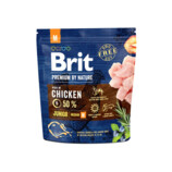 Vezi produsul BRIT Premium By Nature Junior Medium M 1 kg in magazinul fera.ro