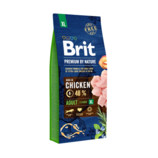Vezi produsul BRIT Premium By Nature Adult Extra Large XL 15 kg in magazinul fera.ro