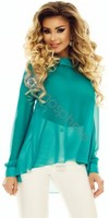 Vezi produsul Bluza voal turquoise Bln 72t in magazinul atmospherefashion.ro