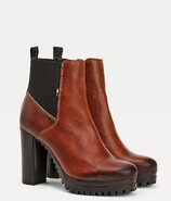 Vezi produsul Tommy Hilfiger Essential Cleated Heeled Boot in magazinul politikos.ro