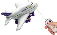 Vezi produsul PLANE WITH RADIO LIGHTS AND ANTENNA FPRCB35BL 0gr in magazinul bestvalue.eu
