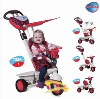 Vezi produsul Tricicleta Smart Trike 4 in 1, Dream Touch Red in magazinul returnoffer.net