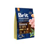 Vezi produsul BRIT Premium By Nature Junior Medium M 3 kg in magazinul fera.ro