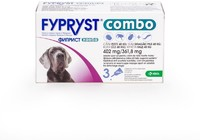 Vezi produsul Fypryst Combo Dog XL 402 mg (40 - 60 kg), 3 pipete in magazinul petmart.ro