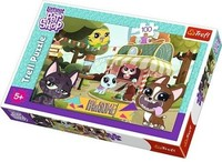 Vezi produsul Puzzle Trefl Littlest Pet Shop Joaca in parc 100 piese in magazinul pickaboo.ro