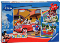 Vezi produsul PUZZLE CLUBUL MICKEY MOUSE , 3x49 PIESE in magazinul bekid.ro