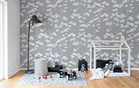 Vezi produsul Fototape Animal Tree, Grey, personalizat, Rebel Walls in magazinul xtdeco.ro