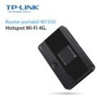 Vezi produsul Router Wireless portabil TP-LINK M7350, 3G/4G, Dual Band, 150 Mbps, 1 Antena interna in magazinul evomag.ro