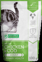 Vezi produsul Natures Protection Cat Urinary Health Chicken & Cod 100 G in magazinul animalulfericit.ro