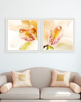 Vezi produsul Tablou 2 piese Framed Art Orchid Close-up in magazinul somproduct.ro