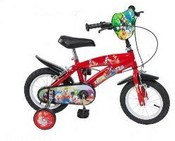 "Vezi produsul Bicicleta 12"" Mickey Mouse Club House Red in magazinul piticulvesel.ro"