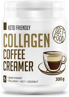 Vezi produsul Colagen + MCT coffee creamer Diet Food 300 g, natural in magazinul republicabio.ro