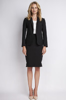 Vezi produsul Black jacket with shawl collars in magazinul molly-dress.com