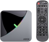 Vezi produsul Smart TV Box Mini PC Techstar¬ģ A95X F3 Air, RGB, Android 9, 2GB + 16GB ROM, 8K Bluetooth,WiFi 5G, RJ45 in magazinul techstar.ro