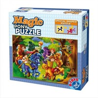 Vezi produsul Magic pony puzzle 35 piese, Basme D-toys in magazinul returnoffer.net