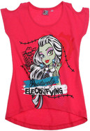 Vezi produsul Monster High® Tricou Fuxia in magazinul hainedecopii.ro