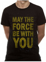 Vezi produsul Tricou Star Wars - May the Force be with You M in magazinul redgoblin.ro