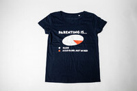 Vezi produsul Tricou Femei Parenting Is in magazinul thefunnybrand.com