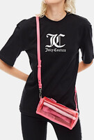 Vezi produsul JUICY COUTURE Unisex T-shirt with raised metallic logo prints BLUZA in magazinul politikos.ro