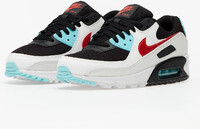 Vezi produsul Nike Wmns Air Max 90 Summit White/ Chile Red-Bleached Aqua in magazinul footshop.ro