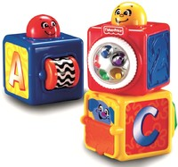 Vezi produsul Set 3 cuburi Fisher Price in magazinul all4baby.ro